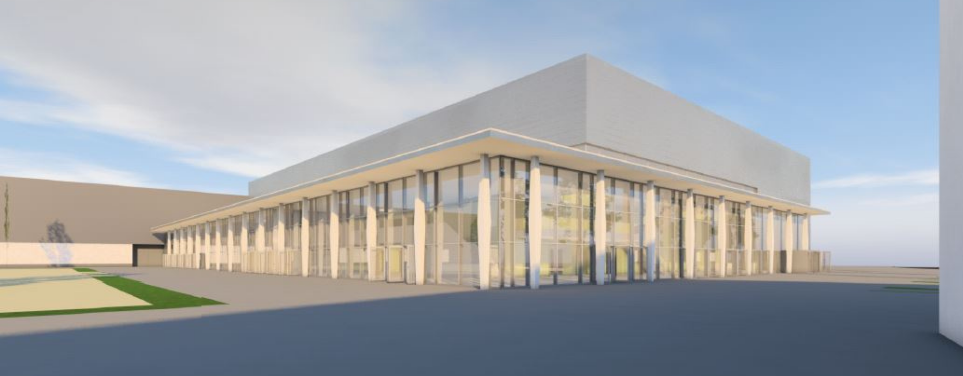 Media Header Neue Messehalle